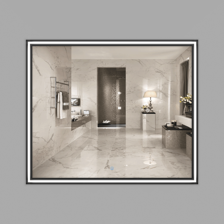 BAI 8045 LED 42-inch Bathroom Mirror with Aluminum Frame