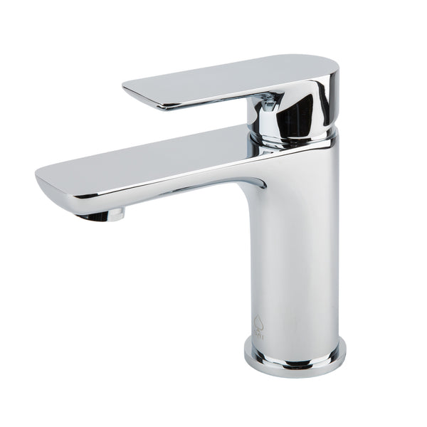BAI 0609 Single Handle Contemporary Bathroom Faucet in Polished Chrome Finish
