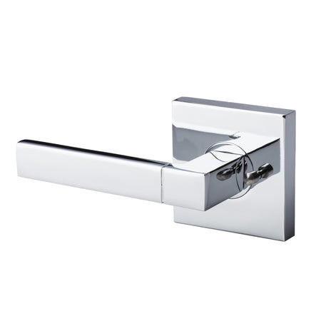 BAI 3019 Modern Passage Door Handle Lever Set with Privacy Pin Function