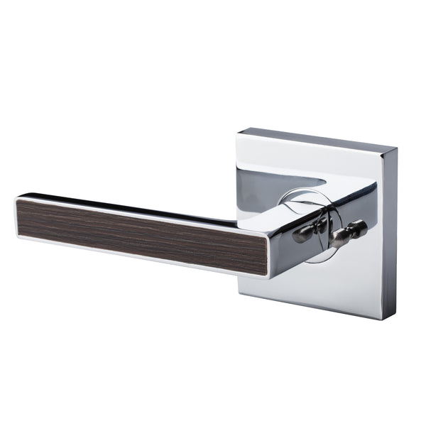 BAI 3022 Modern Passage Door Handle Lever Set with Privacy Pin Function