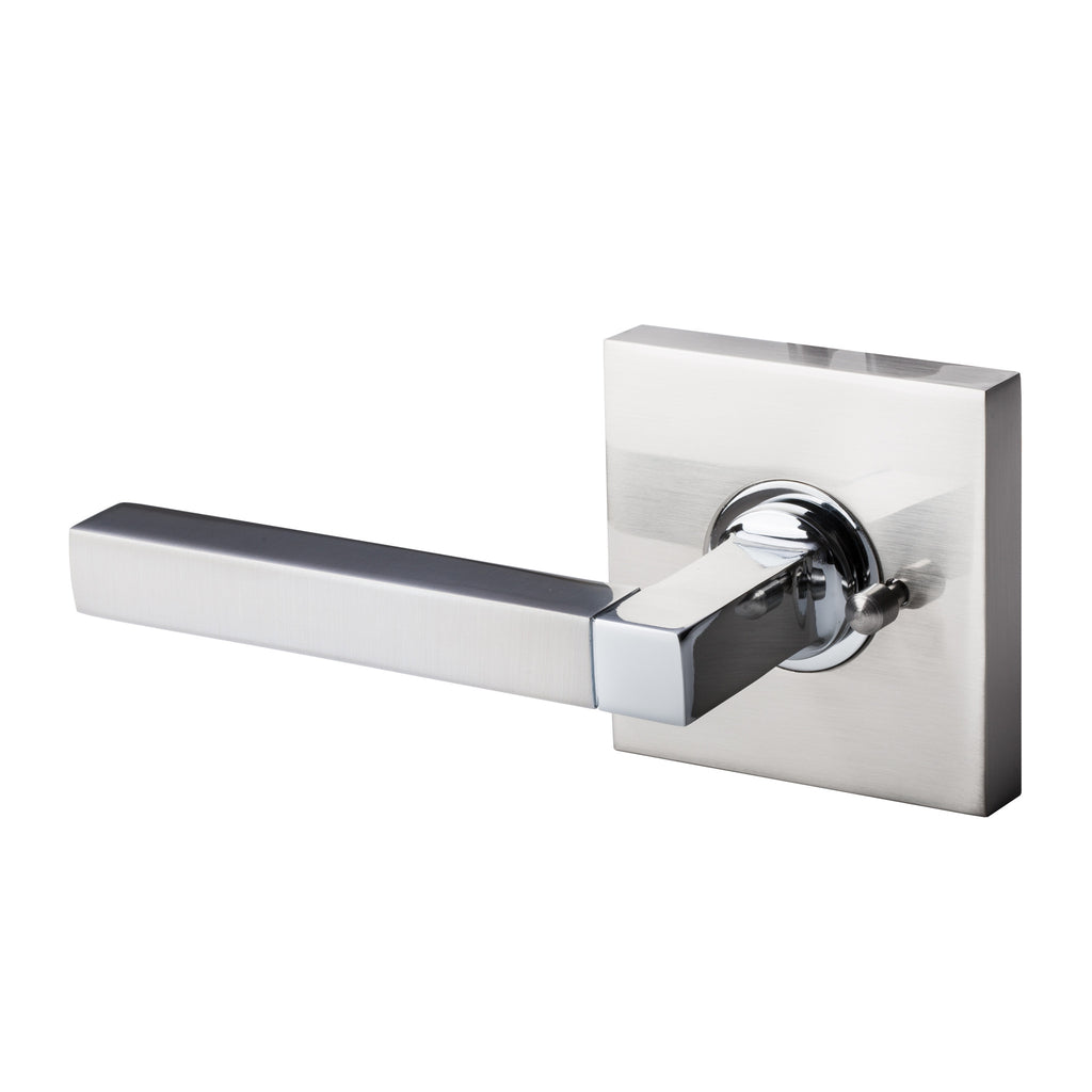 BAI 3030 Passage / Privacy Modern Door Lever / Handle Set