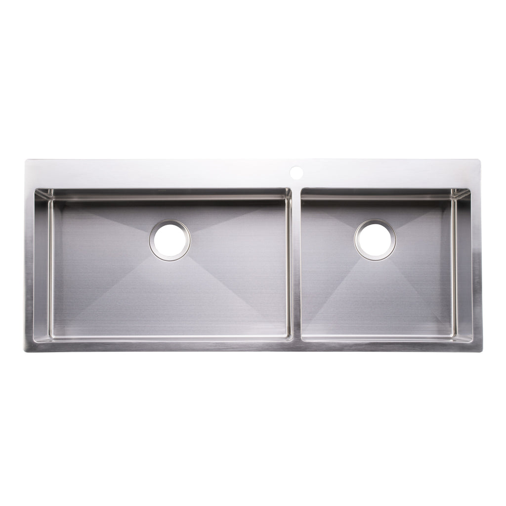 16 Gauge Top Mount Stainless Steel Kitchen Sinks