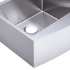 BAI 1296 Farmers / Apron Double Bowl Kitchen Sink Handmade Stainless Steel 36""