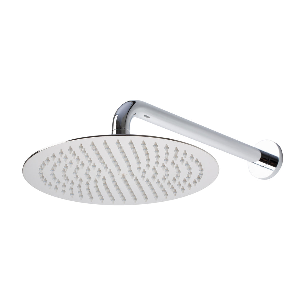 "BAI 0410 Stainless Steel 10"" Round Rainfall Shower Head / Polished Chrome Finish"