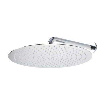 BAI 0412 Stainless Steel 16-inch Round Rainfall Shower Head in Polished Chrome Finish