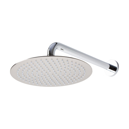 BAI 0413 Stainless Steel 10-inch Round Rainfall Shower Head in Brushed Nickel Finish