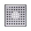 BAI 0574 Stainless Steel 5-inch Square Shower Drain