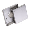 BAI 0580 Stainless Steel 5-inch Square Shower Drain