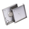 BAI 0577 Stainless Steel 5-inch Tile Insert Square Shower Drain