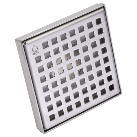 bai stainless steel square shower drain