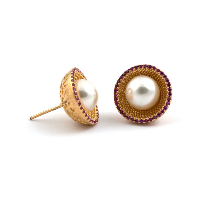 Bello Pearl Earrings