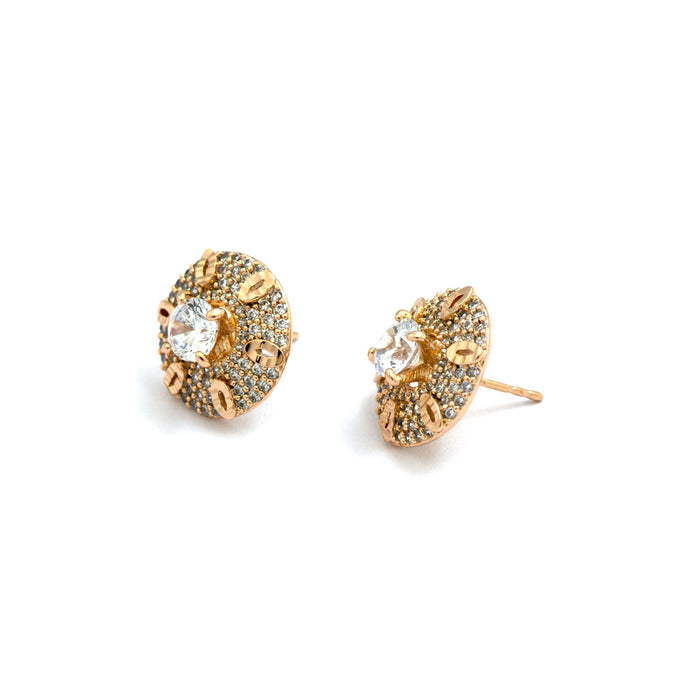Swirling Studs Earring