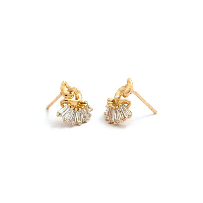 Dancing Brackets Studs Earring