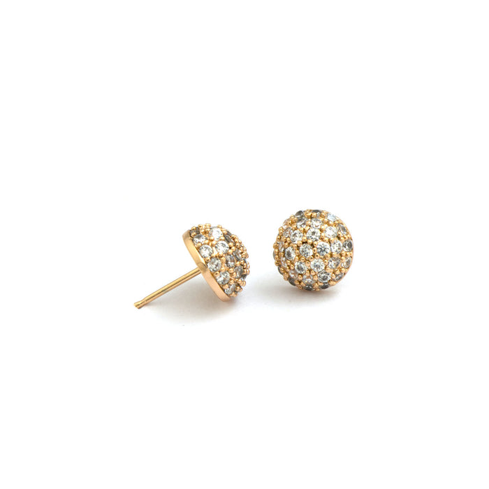Clustered Flower Stud Earrings