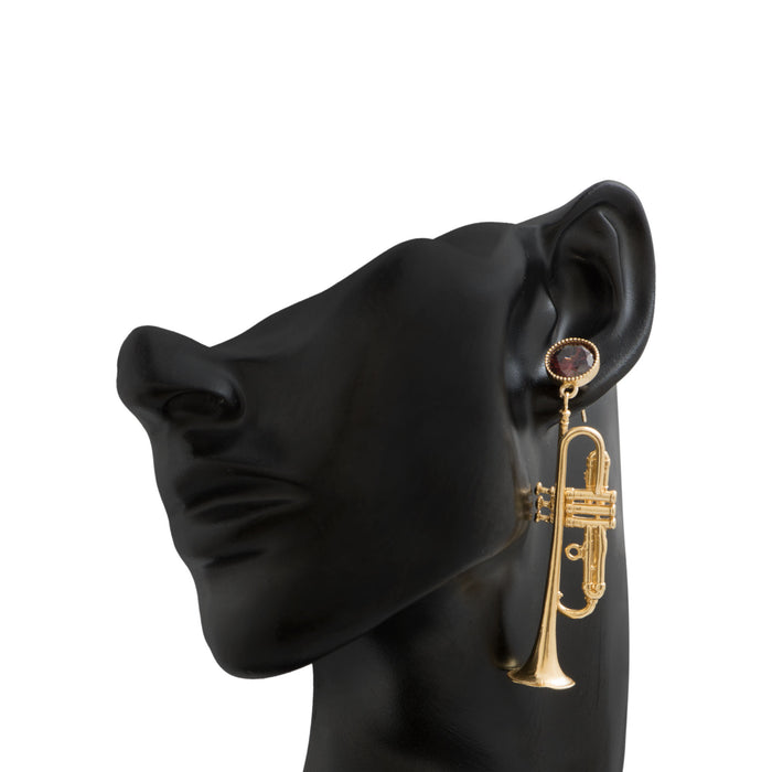Soulful Trumpet Earrings