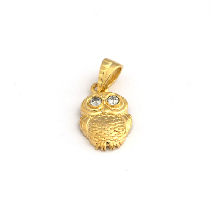 Cute owl pendant (Sterling Silver 92.5)