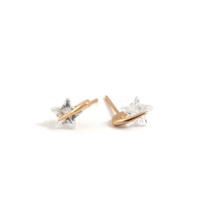 Diamante Star Studs
