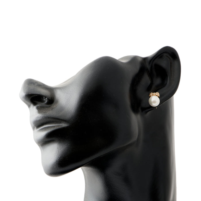 Pretty Lady Pearl and Stones Earring