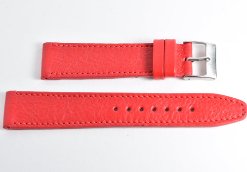 Calf leather - Red Perpetual Watch Lover