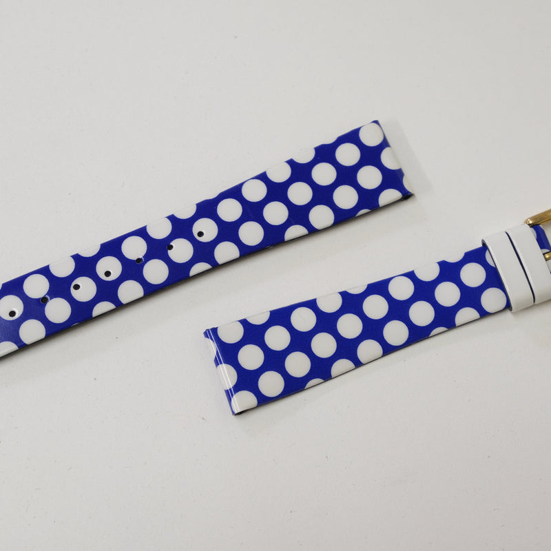 Polka Dot -Nos Strap-By Benneton for Bulova Perpetual Watch Lover