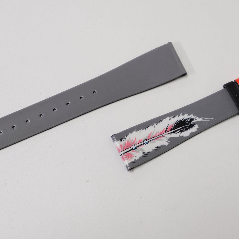 Smooth tie criminal -Nos Strap-By Benneton for Bulova Perpetual Watch Lover