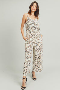 ANIMAL PRINTED JUMPSUIT