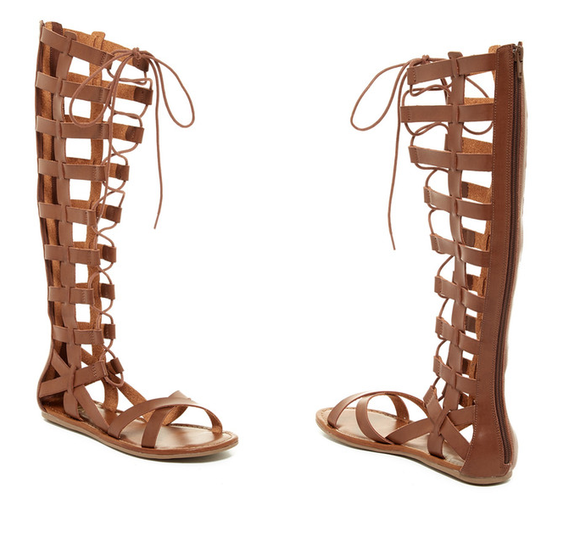MIA Devi Knee High Gladiator Sandal
