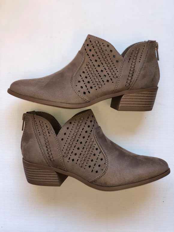 Cutout Bootie: HENDRIX - Multiple Colors Available