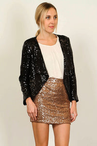 Sequin Blazer - Multiple Colors