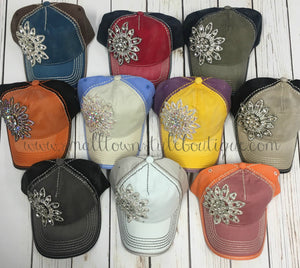Bling Hat - Multiple Color Options Available