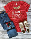 Can't Touch This {Elf on the Shelf} Graphic Tee