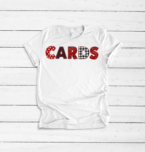 CARDS  - Graphic Tee