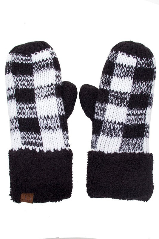 CC Buffalo Plaid Gloves