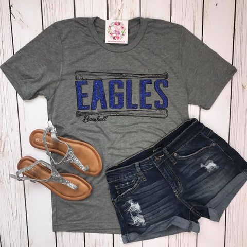 EAGLES Baseball Tee