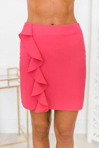 Have All The Fun! _ Hot Pink Skirt