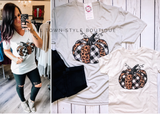 Leopard Buffalo Pumpkin - Graphic Tee YOUTH + ADULT