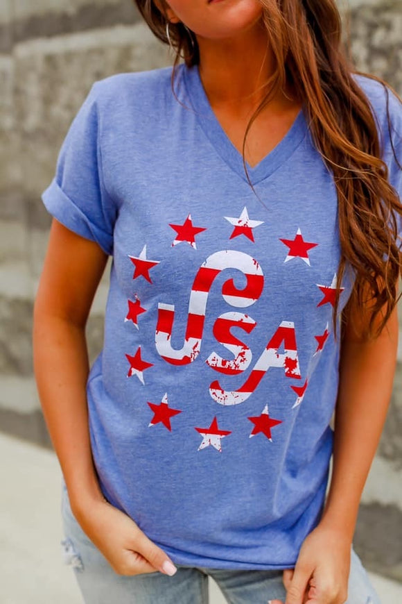 USA stars - Graphic Tee