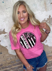GO PINK OR GO HOME - graphic tee