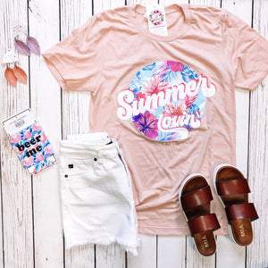 Summer Lovin' - Tropical Graphic Tee