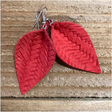Leather Earrings - Multiple Options