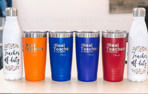 The Real Teachers - 20oz Tumbler