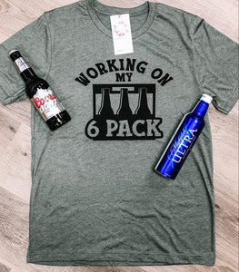SIX PACK DAD - GRAPHIC TEE