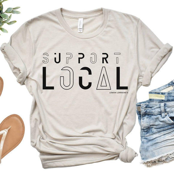 SUPPORT LOCAL - Graphic Tee