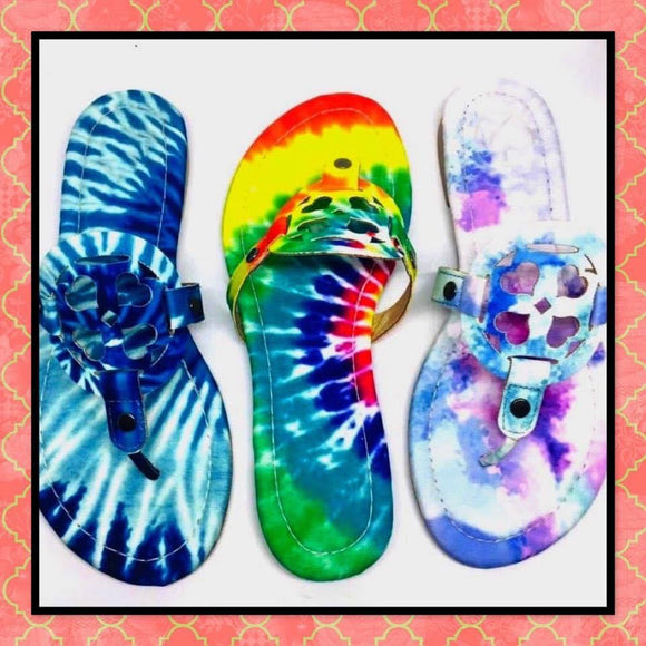 Tie Dye Molly Sandals - 3 Options