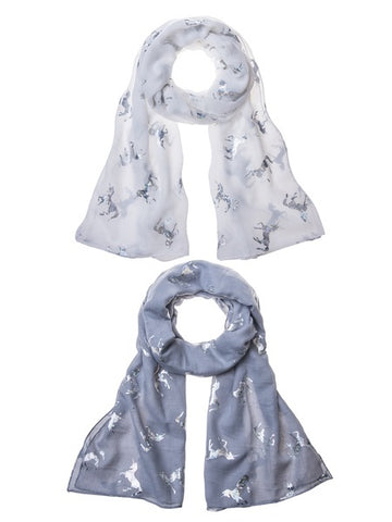 Iridescent Unicorn Scarves - 2 Colors