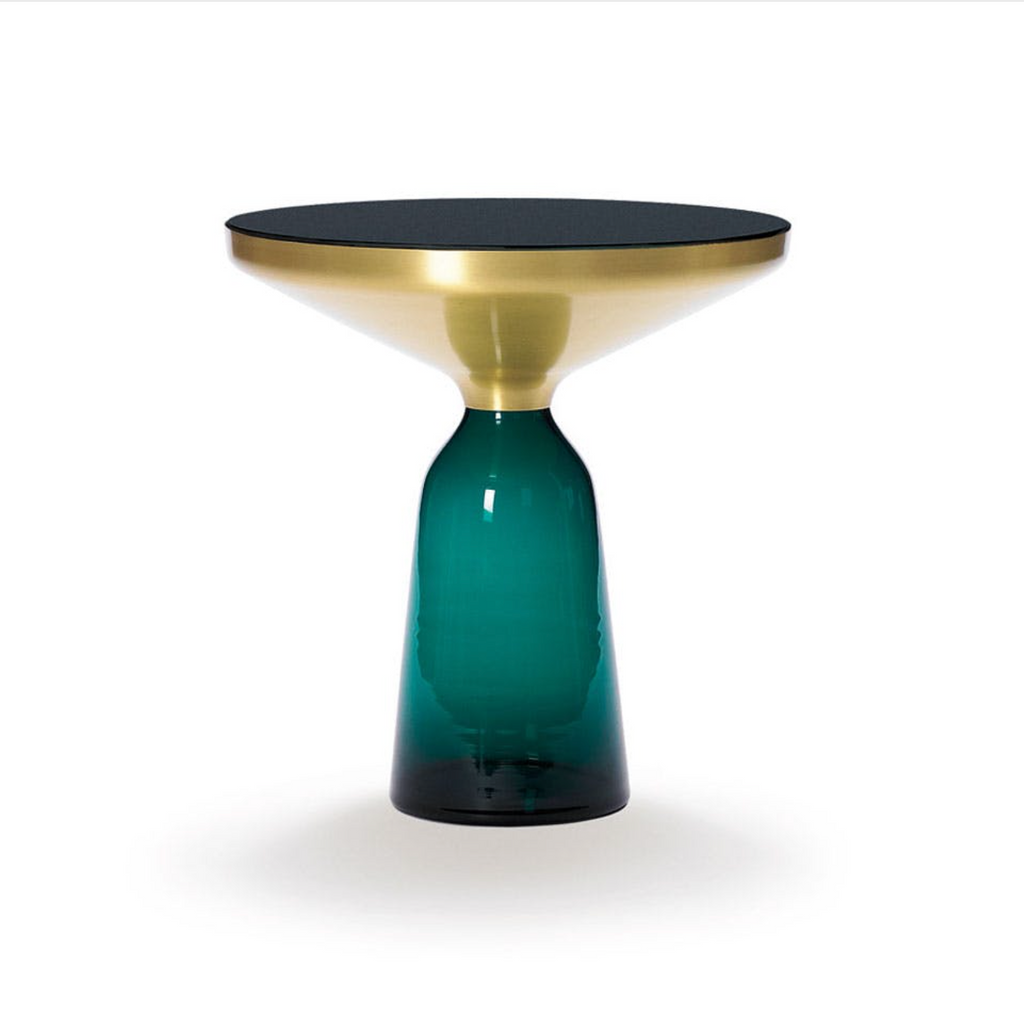 Bell Side Table Green