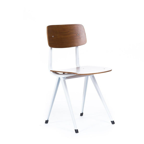 Result Chair Walnut/White