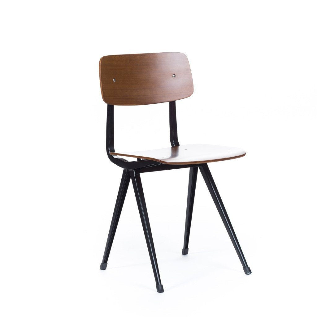 Result Chair Walnut/Black