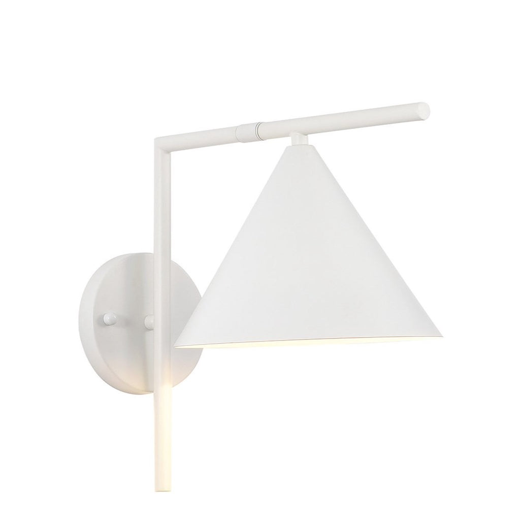 flint wall lamp white