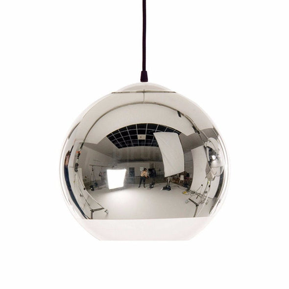 Dixon Chrome Shade Lamp